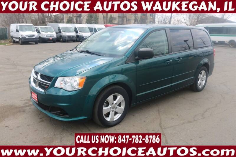 2013 Dodge Grand Caravan for sale at Your Choice Autos - Waukegan in Waukegan IL