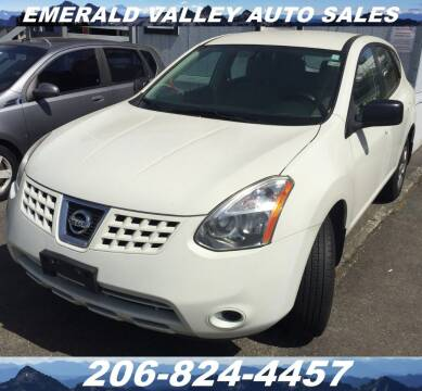 2008 Nissan Rogue for sale at Emerald Valley Auto Sales in Des Moines WA