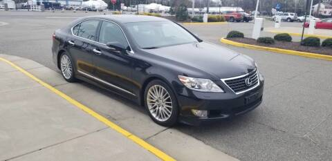 2012 Lexus LS 460 for sale at RVA Automotive Group in North Chesterfield VA