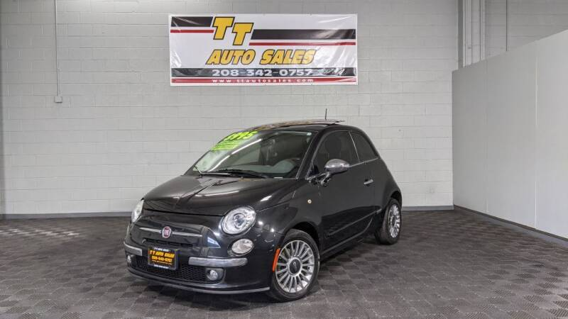2012 FIAT 500 for sale at TT Auto Sales LLC. in Boise ID
