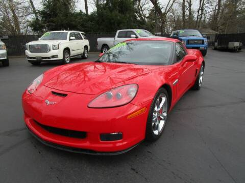 2013 Chevrolet Corvette for sale at LULAY'S CAR CONNECTION in Salem OR
