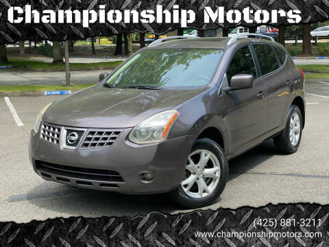 2008 Nissan Rogue for sale at Championship Motors in Redmond WA