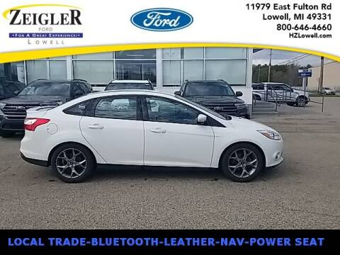 2014 Ford Focus for sale at Zeigler Ford of Plainwell- Jeff Bishop in Plainwell MI