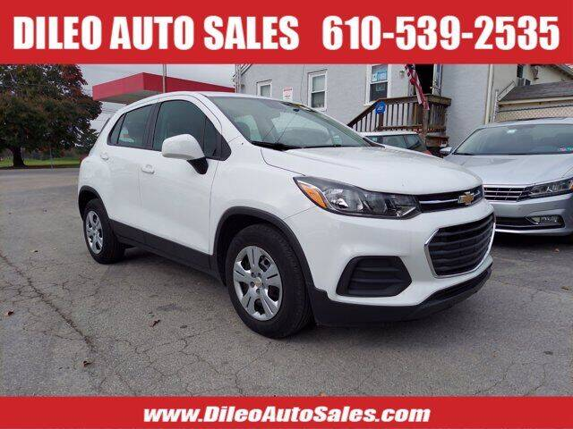 2018 Chevrolet Trax for sale at Dileo Auto Sales in Norristown PA
