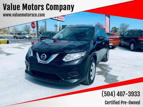2016 Nissan Rogue for sale at Value Motors Company in Marrero LA