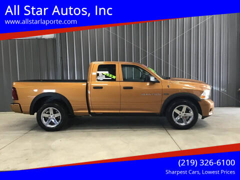 2012 RAM Ram Pickup 1500 for sale at All Star Autos, Inc in La Porte IN