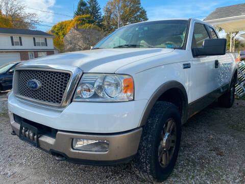 2005 Ford F-150 for sale at GREENLIGHT AUTO SALES in Akron OH