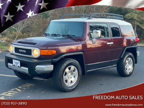 2007 Toyota FJ Cruiser for sale at Freedom Auto Sales in Chantilly VA