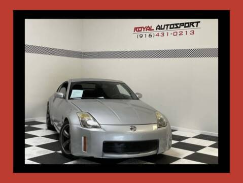 2006 Nissan 350Z for sale at Royal AutoSport in Sacramento CA
