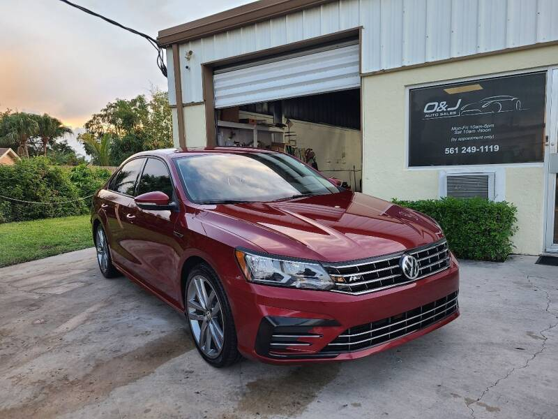 2018 Volkswagen Passat for sale at O & J Auto Sales in Royal Palm Beach FL