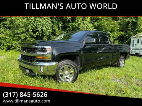 2016 Chevrolet Silverado 1500 for sale at TILLMAN'S AUTO WORLD in Greenwood IN