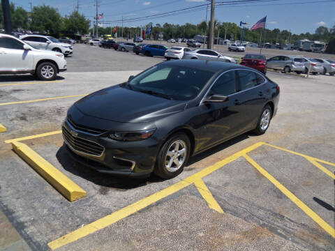 2017 Chevrolet Malibu for sale at ORANGE PARK AUTO in Jacksonville FL