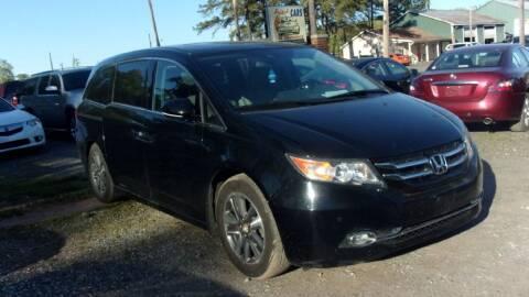 2014 Honda Odyssey for sale at Select Cars Of Thornburg in Fredericksburg VA