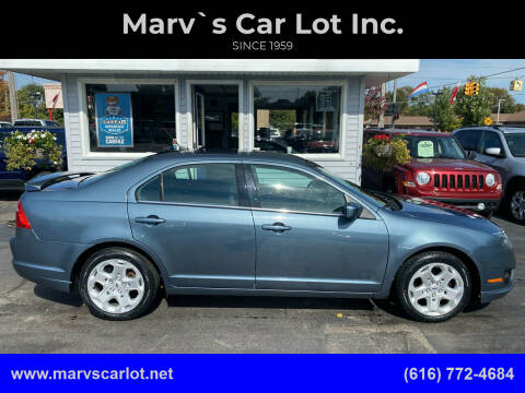 2011 Ford Fusion for sale at Marv`s Car Lot Inc. in Zeeland MI