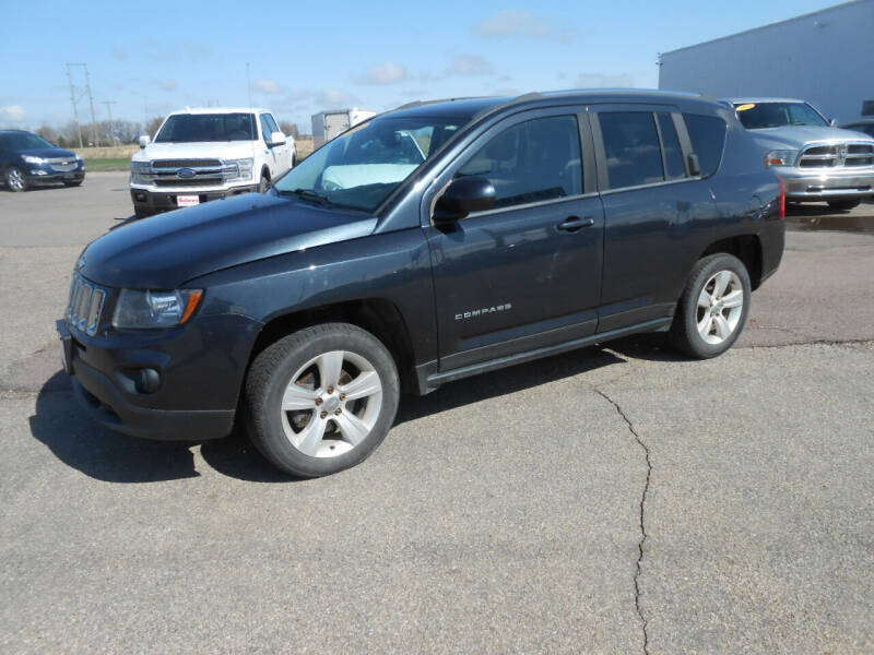 2014 Jeep Compass for sale at Salmon Automotive Inc. in Tracy MN