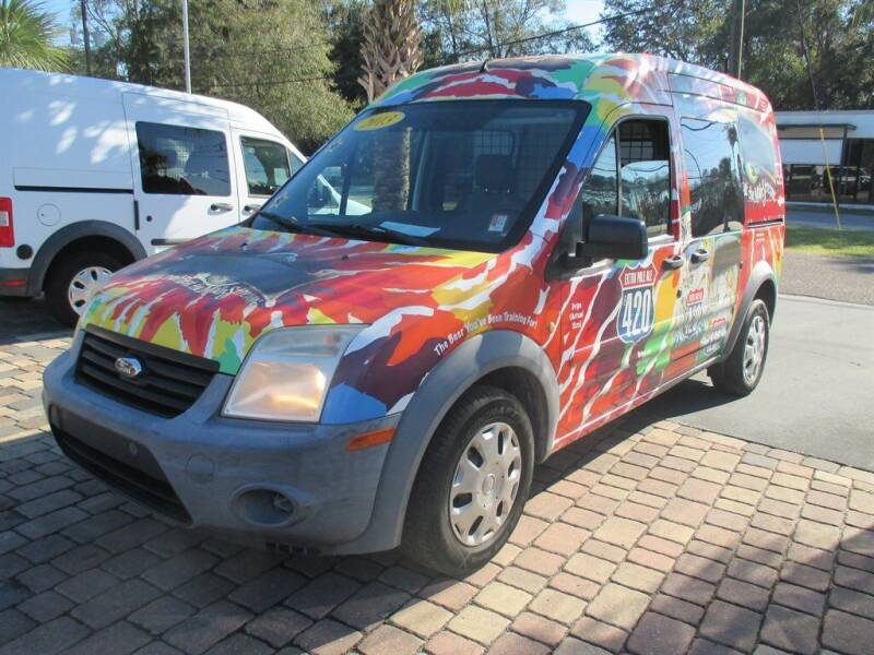 2013 Ford Transit Connect for sale at Affordable Auto Motors in Jacksonville FL