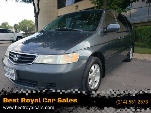 2004 Honda Odyssey for sale at Best Royal Car Sales in Dallas TX