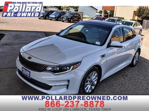 2016 Kia Optima for sale at South Plains Autoplex by RANDY BUCHANAN in Lubbock TX