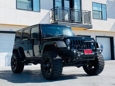 2013 Jeep Wrangler Unlimited for sale at Avanesyan Motors in Orem UT