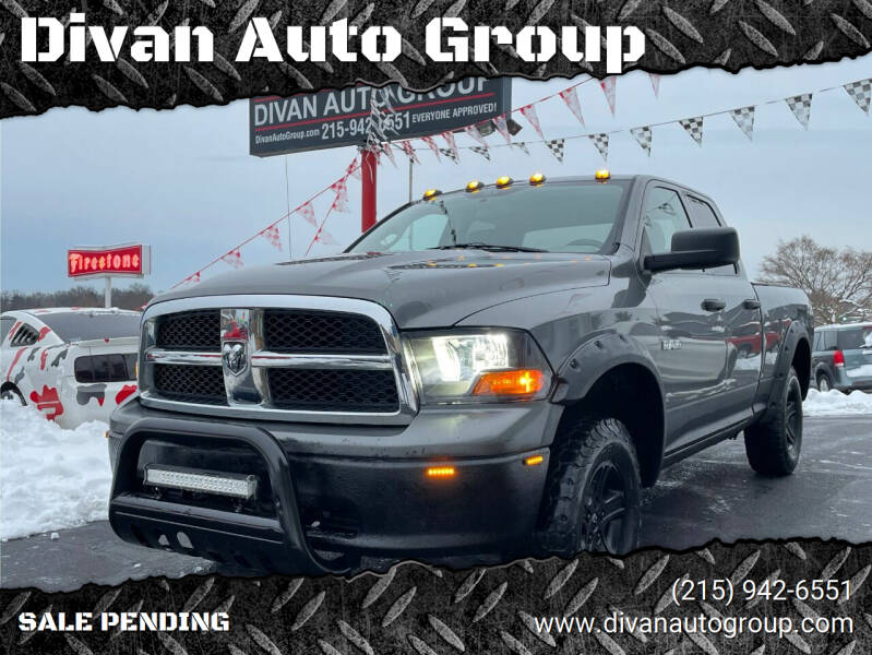 2010 Dodge Ram Pickup 1500 for sale at Divan Auto Group in Feasterville PA