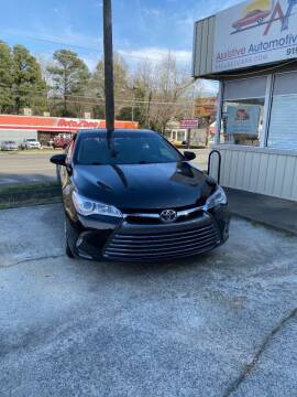 2017 Toyota Camry for sale at Assistive Automotive Center in Durham NC