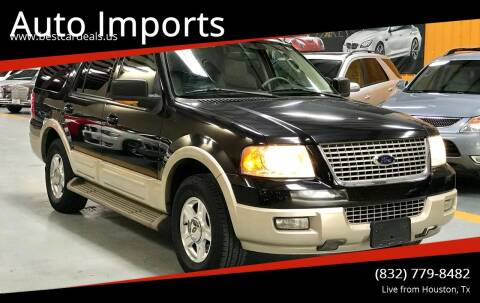 2005 Ford Expedition for sale at Auto Imports in Houston TX
