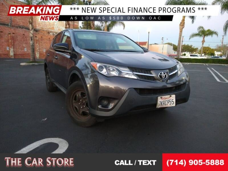 2015 Toyota RAV4 for sale at The Car Store in Santa Ana CA