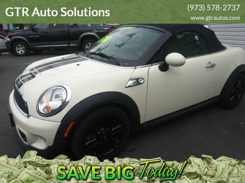 2013 MINI Roadster for sale at GTR Auto Solutions in Newark NJ