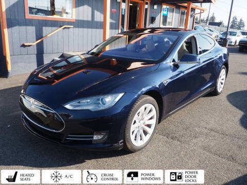 2014 Tesla Model S for sale at Sabeti Motors in Tacoma WA