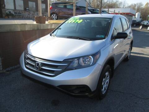 2014 Honda CR-V for sale at WORKMAN AUTO INC in Pleasant Gap PA