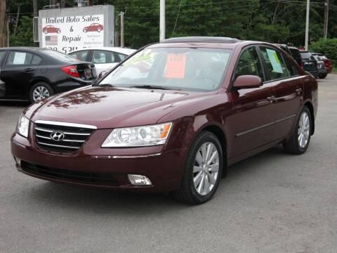 2009 Hyundai Sonata for sale at United Auto Service in Leominster MA