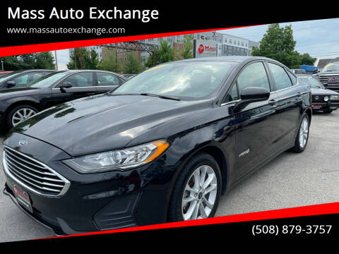 2019 Ford Fusion Hybrid for sale at Mass Auto Exchange in Framingham MA