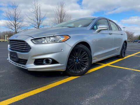 2014 Ford Fusion for sale at Car Stars in Elmhurst IL