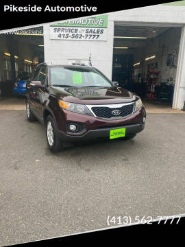2013 Kia Sorento for sale at Pikeside Automotive in Westfield MA