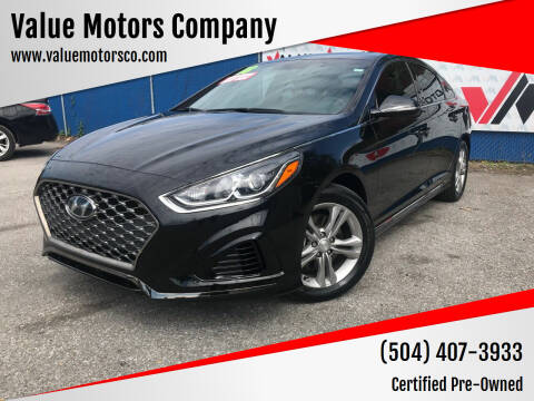 2018 Hyundai Sonata for sale at Value Motors Company in Marrero LA