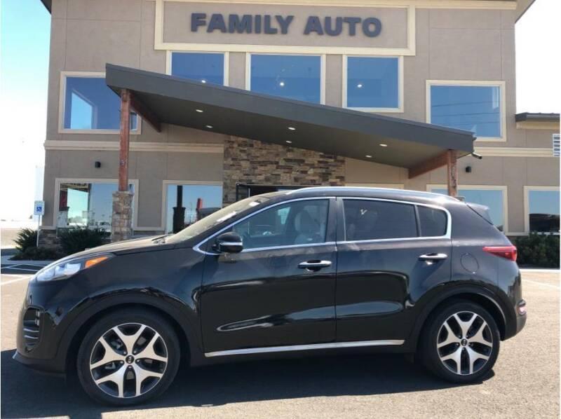 2017 Kia Sportage for sale at Moses Lake Family Auto Center in Moses Lake WA