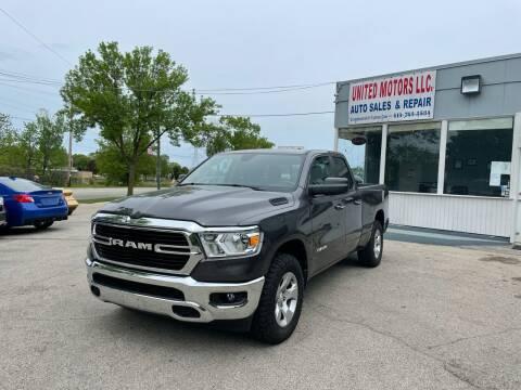 2019 RAM Ram Pickup 1500 for sale at United Motors LLC in Saint Francis WI