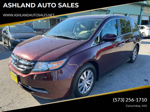 2014 Honda Odyssey for sale at ASHLAND AUTO SALES in Columbia MO