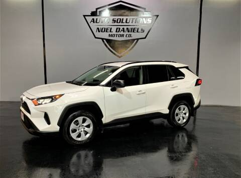 2019 Toyota RAV4 for sale at Noel Daniels Motor Company in Ridgeland MS