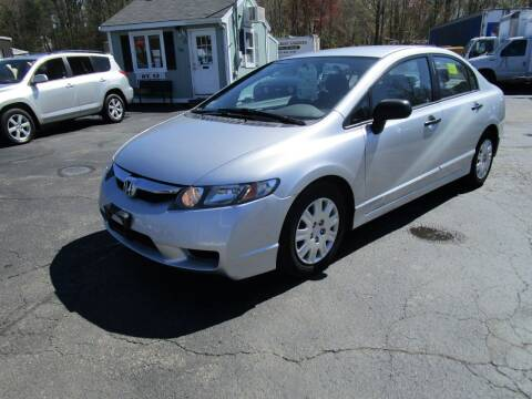 2011 Honda Civic for sale at Route 12 Auto Sales in Leominster MA