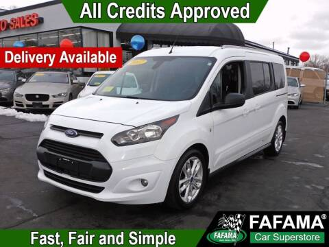 2017 Ford Transit Connect Wagon for sale at FAFAMA AUTO SALES Inc in Milford MA