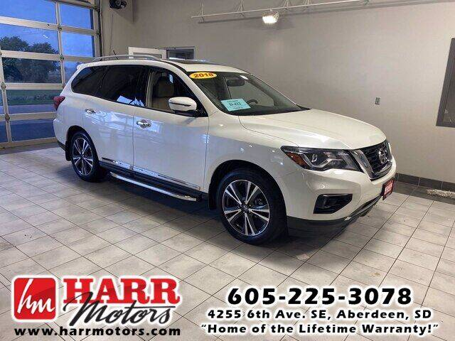 2018 Nissan Pathfinder for sale at Harr's Redfield Ford in Redfield SD