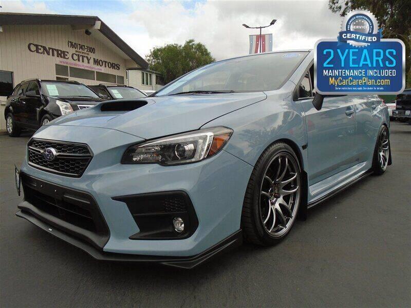 2019 Subaru WRX for sale at Centre City Motors in Escondido CA