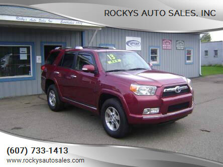 2013 Toyota 4Runner for sale at Rockys Auto Sales, Inc in Elmira NY