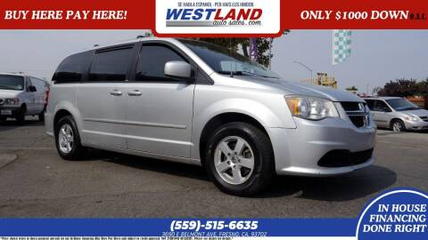 2012 Dodge Grand Caravan for sale at Westland Auto Sales on 7th in Fresno CA