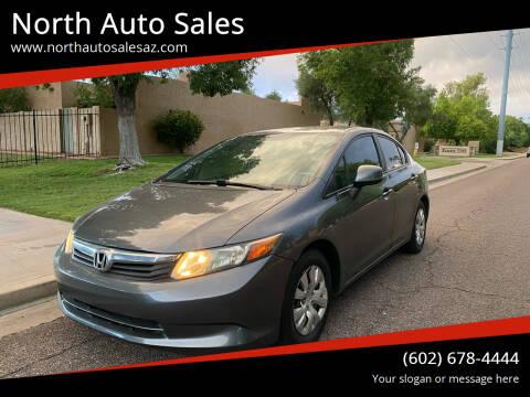 2012 Honda Civic for sale at North Auto Sales in Phoenix AZ