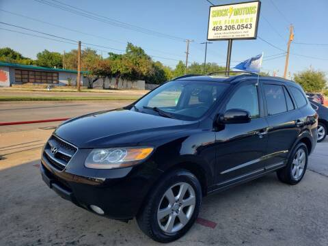 2007 Hyundai Santa Fe for sale at Shock Motors in Garland TX