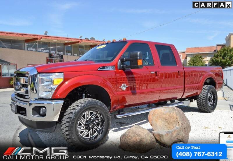 2015 Ford F-350 Super Duty for sale at Cali Motor Group in Gilroy CA