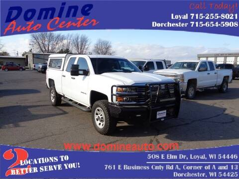 2017 Chevrolet Silverado 2500HD for sale at Domine Auto Center - commercial vehicles in Loyal WI