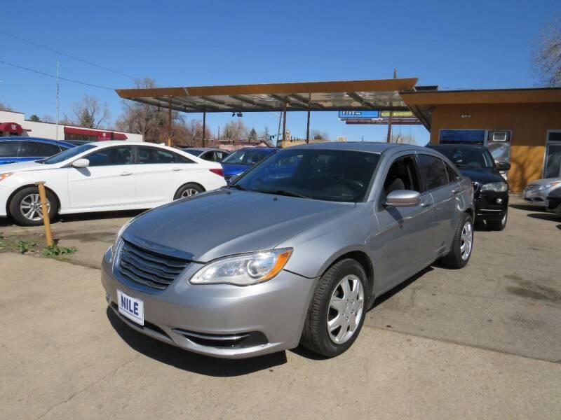 2012 Chrysler 200 for sale at Nile Auto Sales in Denver CO